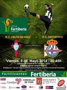 Cartel Liga 2014 celta vs depor